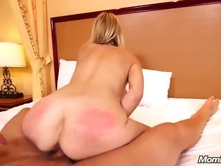 Slender milf with saucy bra-stuffers gets plumbed in every fuck-hole pornvideo