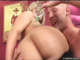 Big ass Daryn Darby enjoying big cock doggystyle