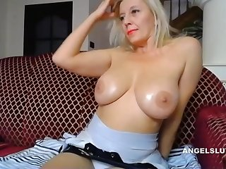 A Beamy Boobs Milf Man Has Fun Here Herperfect Pussy