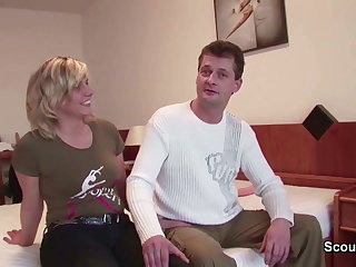 Mom and Dad in First Time Privat Porn Casting for Money