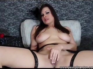 Big Tit Brunette Amateur Masturbation