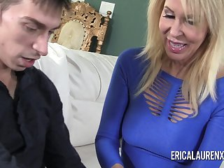 Porn Star mother I´d like to fuck Erica Lauren has a thing for younger men