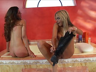 Steamy Lesbian Whores Paola Rey And Carmel