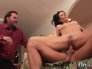 Wife Zoey Holloway Swaps Her Cuckold Husbands Limp Dick for a  One