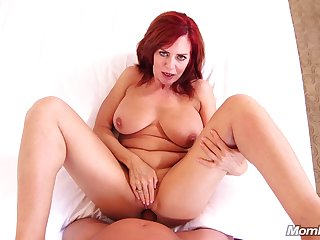 Horny chubby cougar Andi - hardcore POV sex video