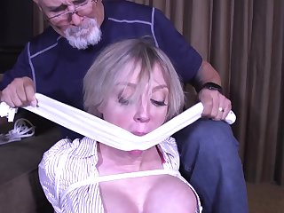 Kinky Mature Engaged In Bondage Fun - MILF bdsm