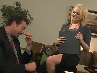 amazing Codi Carmichael hardcore office sex video