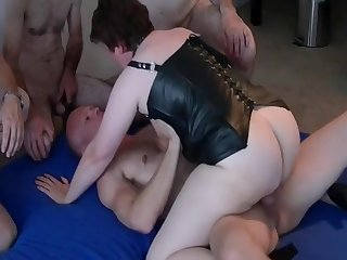 Lovely dutch mom milf as hot sex addicted gangbang slut