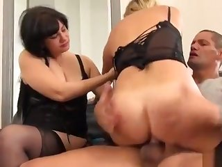 Brigitte M. anal with another girl
