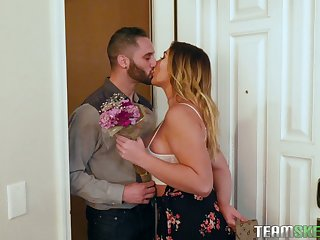 Dreams come true with girlfriend Blair Williams and her sexy step mom