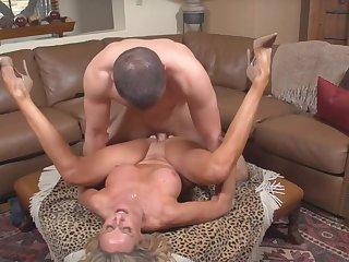 Horny tight MILF hardcore sex video