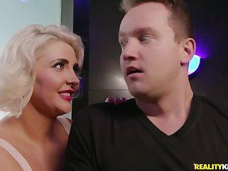 Van Wylde fucked chubby blonde MILF Kristina Shannon