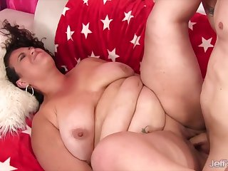 Jeffs Models - Fat Latina MILF Angelina Taking Cock Compilation Part 3