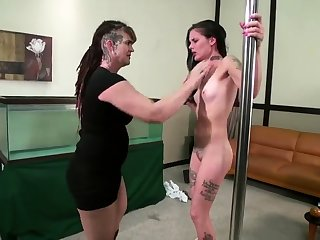 Lesbian Slave bdsm bondage slave femdom domination