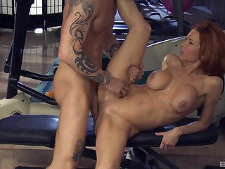 The man's powerful dick makes this premium woman to lose her mind