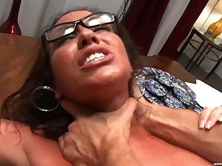 Ass fingering makes MILF Adriana Deville horny for deep fucking