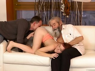 Two old granny s and man fucks big tits milf Unexpected