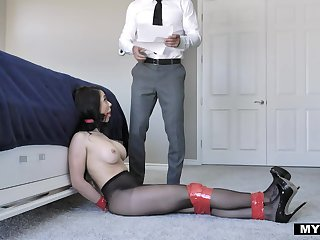 Foot fetish XXX film featuring Crystal Rush and Johnny Castle