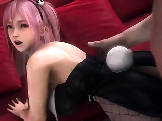 Horny Video Games Whores Fuck in Every Hole Collection