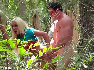 Sex take the hinterlands turned on cam by a horny voyeur