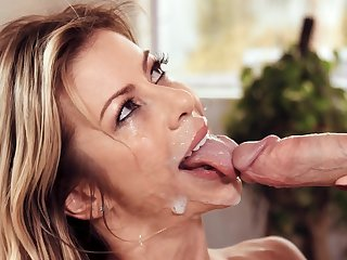 Not any fucking, unique good old blowjob superior to before the son's cock