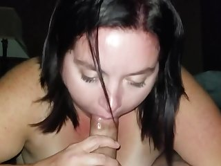 Sexy BBW Deep Throats and Gags
