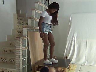 sneaker cock crush